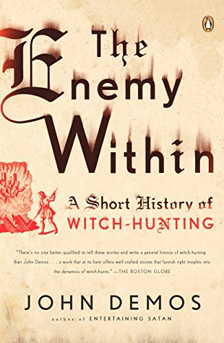 9780143116332: The Enemy Within: A Short History of Witch-Hunting