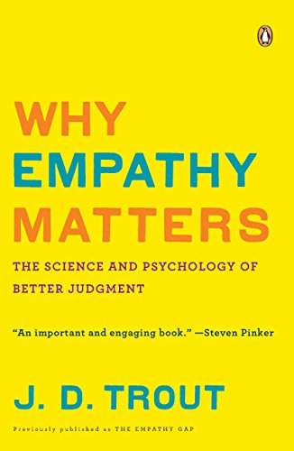 9780143116615: Why Empathy Matters: The Science and Psychology of Better Judgment