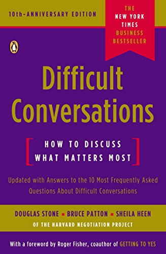 9780143118442: Difficult Conversations: How to Discuss What Matters Most