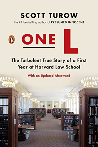 9780143119029: One L: The Turbulent True Story of a First Year at Harvard Law School