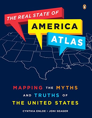 9780143119357: The Real State of America Atlas: Mapping the Myths and Truths of the United States