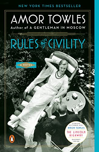9780143121169: Rules of Civility: A Novel