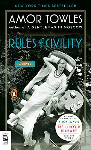 9780143121855: EXP Rules of Civility: A Novel