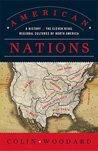 9780143122029: American Nations: A History of the Eleven Rival Regional Cultures of North America