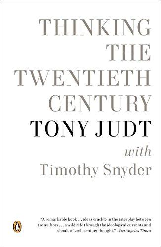 9780143123040: Thinking the Twentieth Century