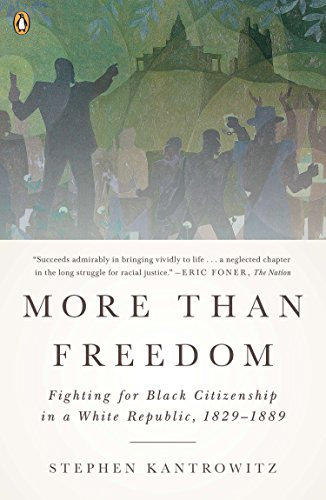 More Than Freedom Fighting for Black Citizenship in a White Republic, 1829-1889