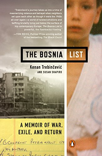 9780143124573: The Bosnia List: A Memoir of War, Exile, and Return