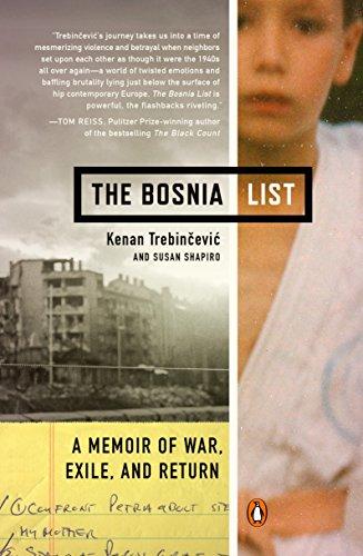 9780143124573: The Bosnia List: A Memoir of War, Exile, and Return
