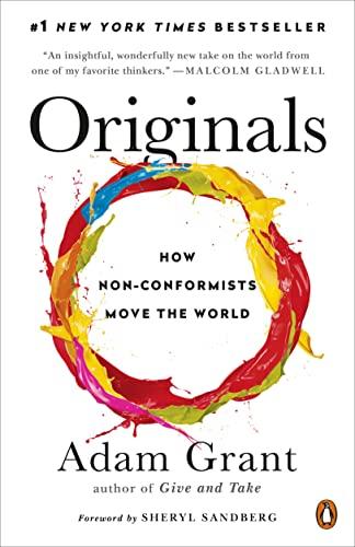 9780143128854: Originals: How Non-Conformists Move the World