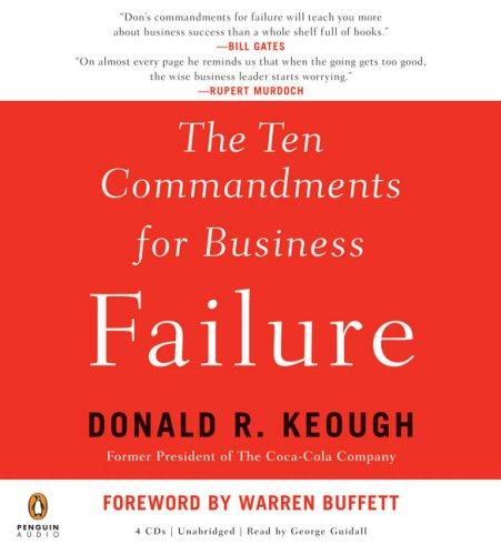 9780143143864: The Ten Commandments for Business Failure