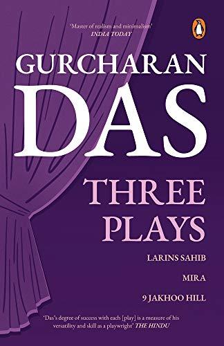 9780143414520: Three Plays: Larins Sahib, Mira, 9 Jakhoo Hill