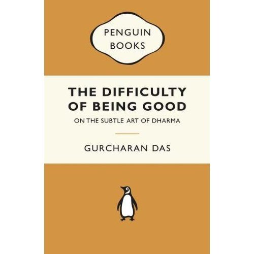 9780143418092: The Difficulty of Being Good: On the Subtle Art of Dharma