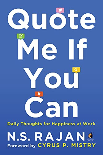 9780143424413: Quote Me if You Can: Daily Thoughts for Happiness at Work