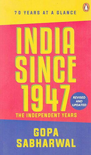 9780143441823: India Since 1947: The Independent Years