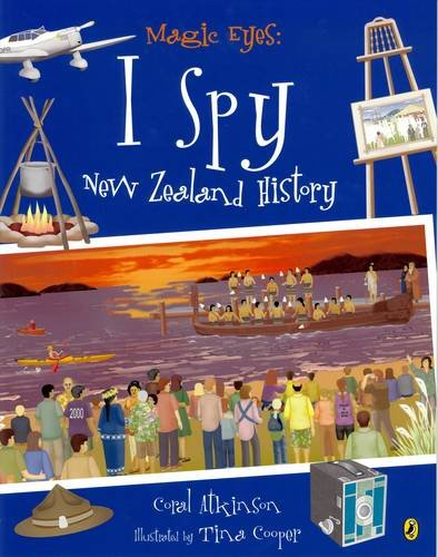 9780143503248: Magic Eyes: I Spy New Zealand History