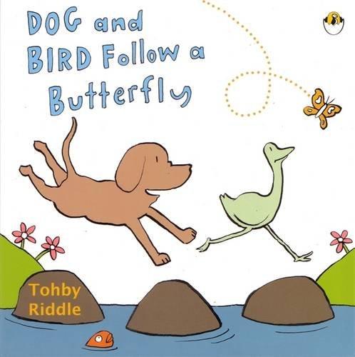 9780143503590: Dog and Bird Follow a Butterfly
