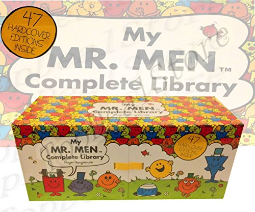 9780143797500: My Complete Library Mr Men 47 Books Complete Box Set Story Collection Hard Cover EXPRESS COURIER FROM SYDNEY WITH DHL OR FEDEX