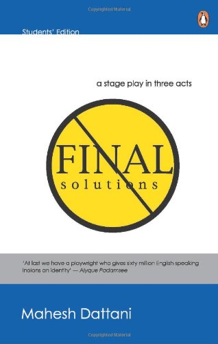 9780144000661: Final Solutions - A stage play in three acts