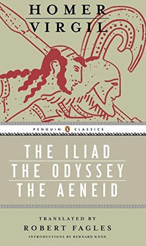 Iliad, Odyssey, and Aeneid Box Set (Paperback): Virgil, Homer