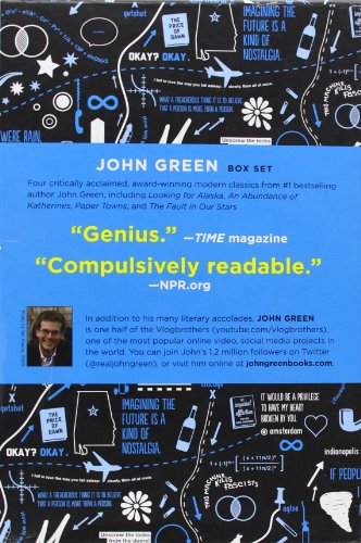 9780147508737: John Green Box Set: Looking for Alaska / An Abundance of Katherines / Paper Towns and Fault in Our Stars