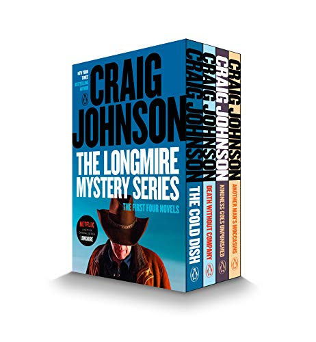 9780147508775: The Walt Longmire Mystery Series Boxed Set: Another Man's Moccasins/Kindness Goes Unpunished/Death Without Company/The Cold Dish (Walt Longmire Mysteries)