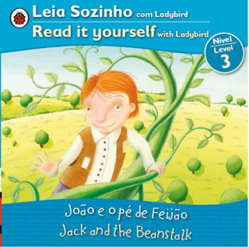 9780147508812: Jack and the Beanstalk Bilingual (Portuguese/English): Fairy Tales (Level 3) (Leia Sozinho Nivel 3 / Read It Yourself Level 3)
