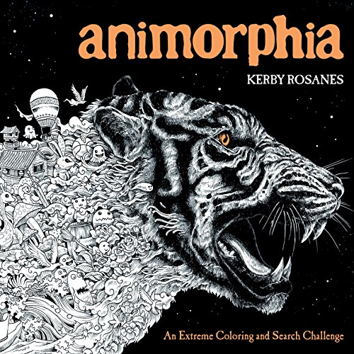 9780147518361: Animorphia: An Extreme Coloring and Search Challenge