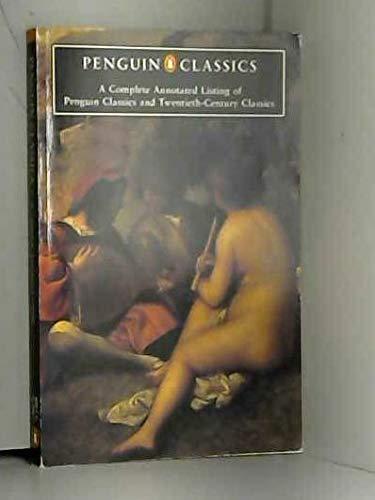 9780147710901: Penguin Classics a Complete Annotated LI