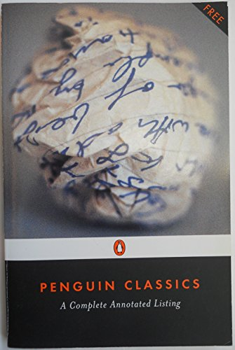 9780147717917: Penguin Classics Complete Annotated Catalog (Penguin Classics Presents)