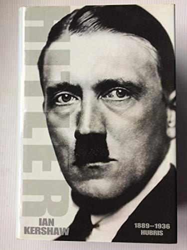 9780149019293: Hitler 1889-1936: Hubris