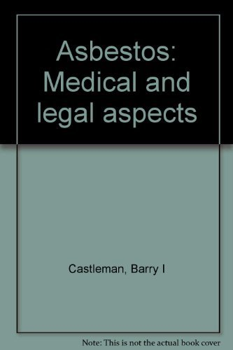 9780150042914: Asbestos: Medical and legal aspects