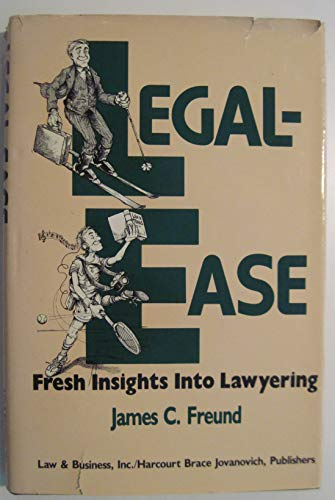 9780150043737: Legal-Ease: Fresh Insights into Lawyering