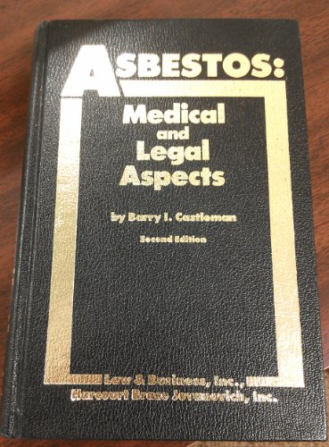 9780150044123: Asbestos: Medical and legal aspects