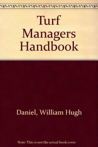 9780150044857: Turf Managers Handbook