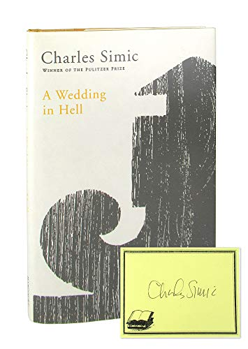 9780151001231: A Wedding in Hell: Poems