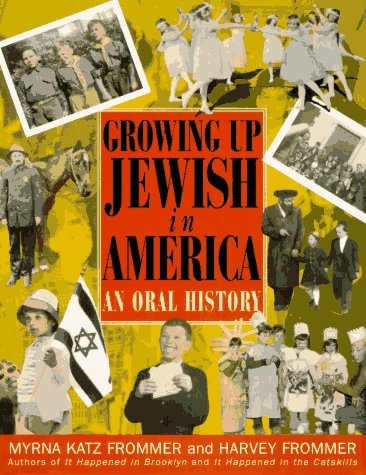 9780151001323: Growing Up Jewish in America: An Oral History