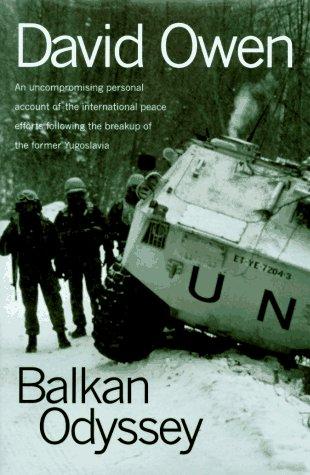 9780151002214: Balkan Odyssey