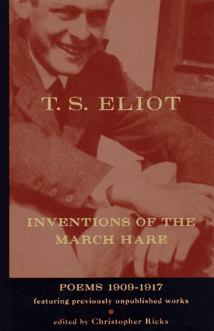 9780151002740: Inventions of the March Hare: Poems 1909-1917