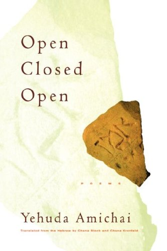 9780151003785: Open Closed Open: Poems