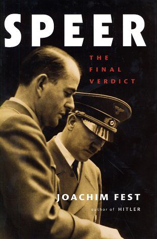 9780151005567: Speer: The Final Verdict