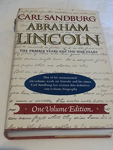 9780151006380: Abraham Lincoln: The Prairie Years and the War Years (The Library of the presidents)