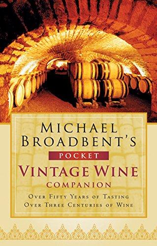 9780151012619: Michael Broadbent's Pocket Vintage Wine Companion