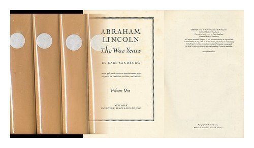 9780151016051: Abraham Lincoln: The War Years Vol 2