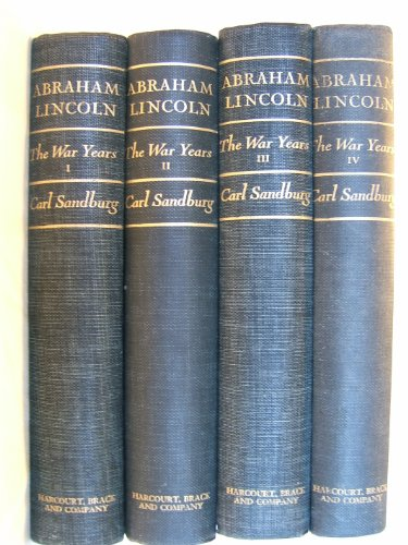 9780151016082: Abraham Lincoln: The War Years (In Four Volumes)