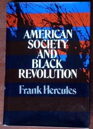 9780151061808: American society and Black revolution