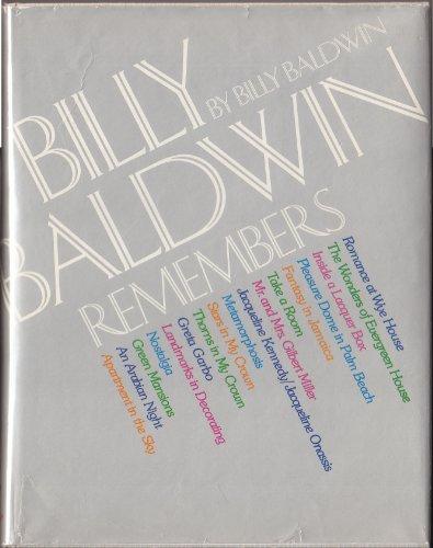 9780151120703: Billy Baldwin Remembers