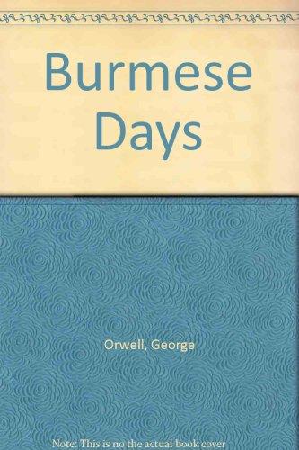 9780151149759: Burmese Days