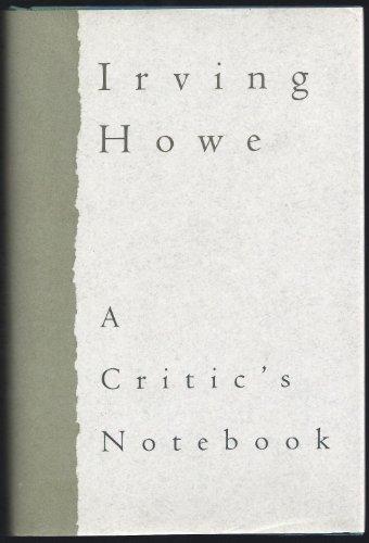 9780151199495: Critic's Notebook