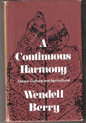 9780151225644: Continuous Harmony