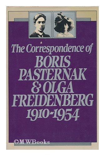 9780151226306: The Correspondence of Boris Pasternak and Olga Freidenberg- 1910-1954